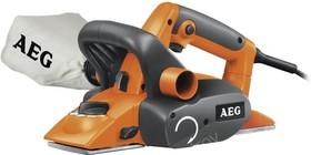 Рубанок AEG PL 750 750Вт 16000об/мин нож 82мм срез 0-2мм