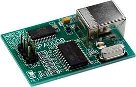 SPA0008, USB программатор для AVR-микроконтроллеров