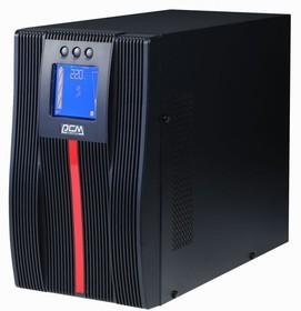 Фото 1/4 UPS Powercom MAC-1500, 1500 Wt/1500 VA, tower, Источник бесперебойного питания, 1500 Вт/1500 ВА, напольный