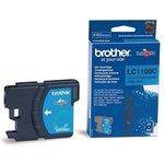 Картридж BROTHER LC1100C голубой