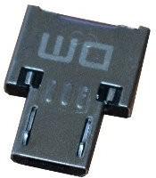 Фото 1/5 MICRO-USB-OTG-ADAPTER, Переходник c USB-A на microUSB