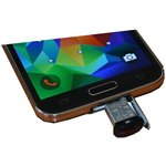 Фото 2/5 MICRO-USB-OTG-ADAPTER, Переходник c USB-A на microUSB