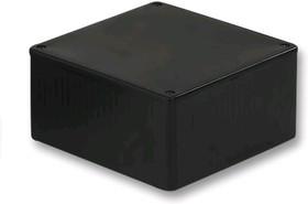 Фото 1/2 1591TSBK, Корпус для РЭА 59х80х120 пластик черный