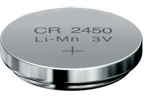 Фото 1/2 CR2450, Элемент питания литиевый (1шт) 3В