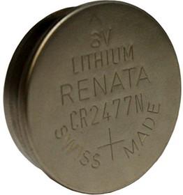 CR2477N, Элемент питания литиевый (1шт) 3В, 950мАч
