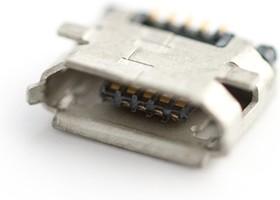 Фото 1/2 Micro USB 5S-B (KLS1-233-0-1-1-T), Разъем micro USB-B на плату