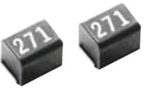 Фото 1/2 NLC453232T-101K-PF, Inductor Power Unshielded Wirewound 100uH 10% 796KHz 20Q-Factor Ferrite 180mA 4Ohm DCR 1812 T/R