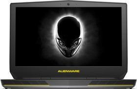 "Ноутбук DELL Alienware 15, 15.6"", Intel Core i7 6700HQ, 2.6ГГц, 8Гб, 1000Гб, nVidia GeForce GTX 970M - 3072 Мб, Windows 10 (A15-1585)"