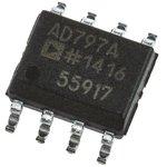 AD797ARZ, Операционный усилитель со сверхнизким уровнем шума и сверхнизким ...