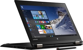 "Ноутбук-трансформер LENOVO ThinkPad Yoga 260, 12.5"", Intel Core i3 6100U, 2.3ГГц, 4Гб, 192Гб SSD, Intel HD Graphics 520 (20FD0020RT)"