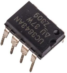 Фото 1/2 UC3843AN, Токовый ШИМ-контроллер [DIP-8]