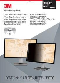 """Фото 1/5 Экран защиты информации для монитора 3M PF190C4B (7000013670) 19"""" черный"""