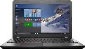 "Ноутбук LENOVO ThinkPad Edge 565, 15.6"", AMD A8 8600P, 1.6ГГц, 4Гб, 500Гб, AMD Radeon R5, DVD-RW, Free DOS, черный [20ey000wrt]"