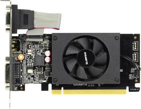 Видеокарта GIGABYTE GeForce GT 710, GV-N710D3-2GL, 2Гб, DDR3, Low Profile, Ret