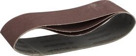 35541-180, ЗУБР 75х457 мм, P180, лента шлифовальная МАСТЕР, для ЛШМ, 3 шт.