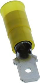 19025-0005, Клеммы быстрого отключения, Avikrimp 19025 Series, Штекерный Быстрого Соединения, 6.35мм x 0.81мм