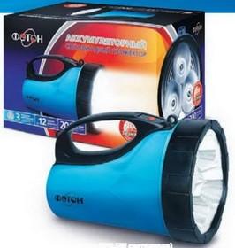Фонарь аккумуляторный светодиодный «ФОТОН» РВ-0303 Blue (3*0,5W светодиода) (21125)