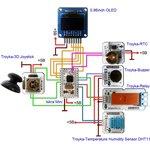 Фото 3/3 Часы, будильник, таймер на Arduino. v1.0