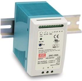 DRC-100A, Блок питания с функцией UPS, 13.8В,4,8А; 13.8В,2.5А; 96.6Вт