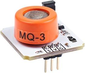 Фото 1/3 Troyka-Mq3 gas sensor, Датчик паров спирта для Arduino проектов