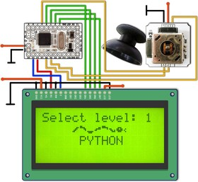 Игра змейка на Arduino