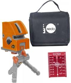 NEDO X-Liner5.2 460872, построитель плоскостей, Лазерный нивелир