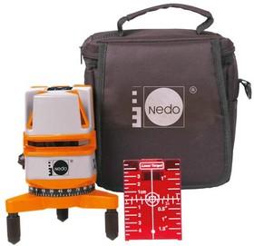 NEDO X-Liner3 460873,, Лазерный нивелир