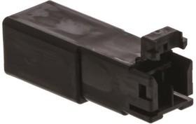 174057-2, Conn Housing RCP 2 POS 2.5mm Crimp ST Cable Mount Automotive Bag