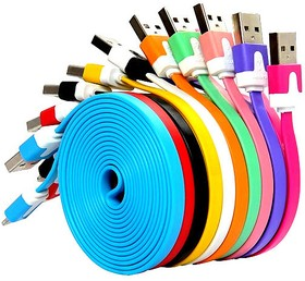 USB кабель Pro Legend плоский micro USB, 1м, оранжевый (PL1316)