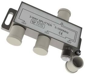 PL1106, Разветвитель (Сплиттер) антенный на 3 направления 5-1000 мгц