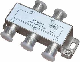 Сплиттер на 4 направления 5-1000 мгц (PL1107)
