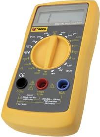 94W101, Мультиметр цифровой, TOPEX, LCD1999, режимы: A, V,,, питание 9v