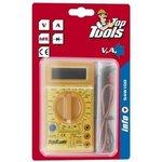 Мультиметр цифровой, Top Tools, режимы: A, V,, hFE,, питание 9v