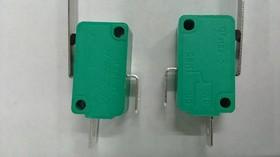 MSW-02A-20-38S, Микропереключатель ON-(OFF) с лапкой 38мм (16A 125/250VAC) SPDT 2P
