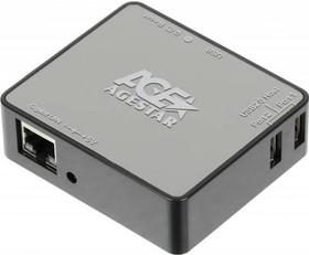Адаптер-переходник AGESTAR WLB6, для HDD Mobile, черный