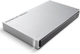 Внешний жесткий диск LACIE Porsche Design STET2000400, 2Тб, серебристый