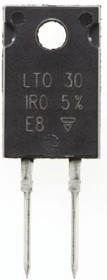 LTO030F1R000JTE3, LTO30 1 Ом 5% резистор 30Вт