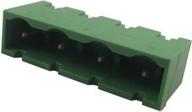 CTB9500/4, Клеммная Колодка, штыревой разъем, Штекер, 7.5 мм, 4 вывод(-ов), 12 А, 500 В