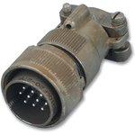 MS3106F20-27P, Круглый разъем, MIL-DTL-5015 Серия ...