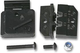 Фото 1/2 539747-2, Матрица обжимного инструмента, AMP Универсальные Контакты MATE-N-LOK, TE 539635-1 Hand Crimp Tools