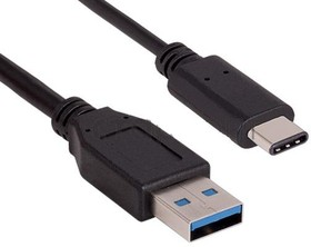 PL1371, Кабель USB 3.0 (male) - USB 3.1 type C (male), 1м | купить в розницу и оптом