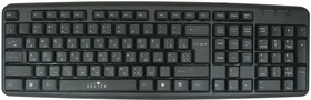 Клавиатура OKLICK 130M, USB, черный [8136]