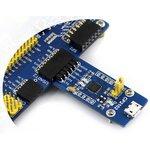 Фото 3/5 CP2102 USB UART Board (micro), Преобразователь USB-UART на базе CP2102 с разъемом USB micro