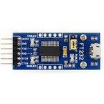 Фото 2/7 FT232 USB UART Board (micro), Преобразователь USB-UART на базе FT232 с разъемом USB micro