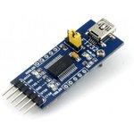 Фото 3/5 FT232 USB UART Board (mini), Преобразователь USB-UART на базе FT232 с разъемом USB mini-AB