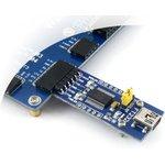 Фото 4/5 FT232 USB UART Board (mini), Преобразователь USB-UART на базе FT232 с разъемом USB mini-AB