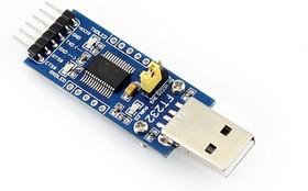 Фото 1/5 FT232 USB UART Board (Type A), Преобразователь USB-UART на базе FT232 с разъемом USB-A