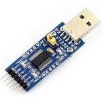 Фото 4/5 FT232 USB UART Board (Type A), Преобразователь USB-UART на базе FT232 с разъемом USB-A