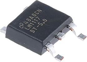 LM1117DT-5.0/NOPB, Линейный регулятор с низким падением напряжения, +5 В, 0.8А [TO-252 / DPAK]