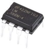 LM386N-4/NOPB, Audio power amplifier,LM3